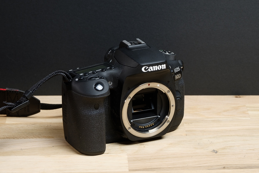 The Canon 90D features an APS-C sized 32.5MP image sensor.