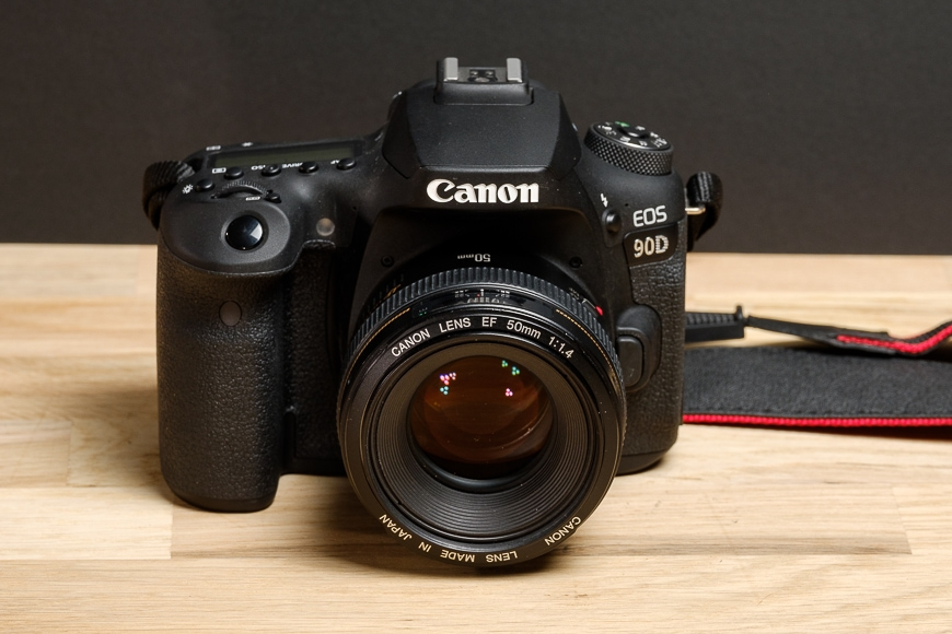The Canon 90D with the Canon EF 50mm f/1.4 makes a nice combo.