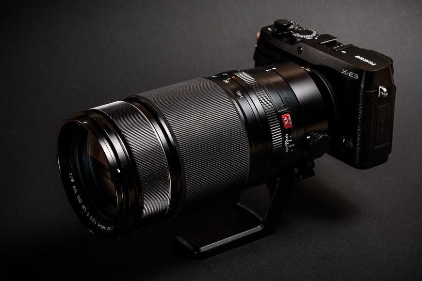 The Fujifilm XF 50-140mm f/2.8 mounted to the Fujifilm X-E3 is a nice pairing.