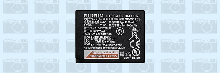 Fuji rechargeable battery