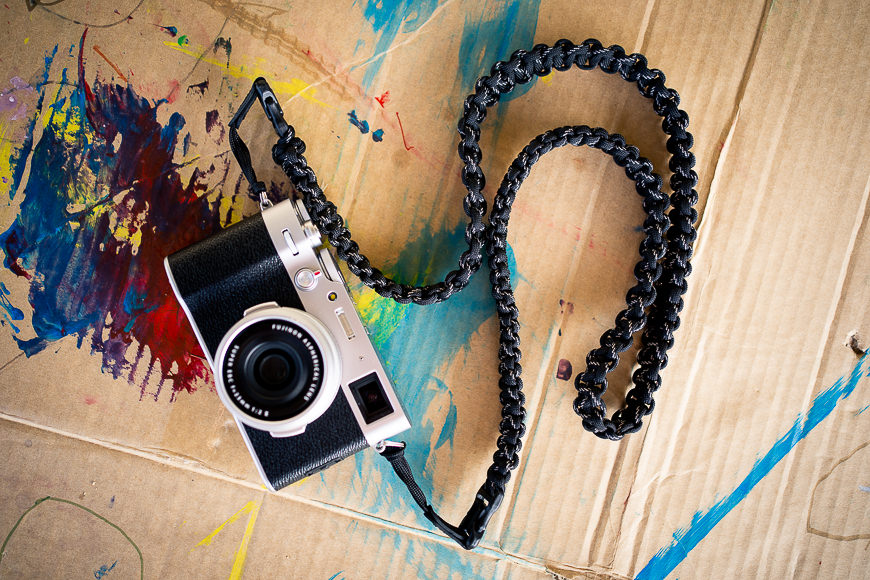 dsptch braided camera strap review
