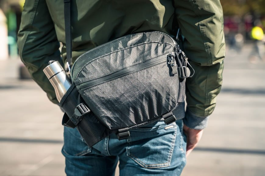 The Instinct X-Pac Pro Camera Sling Bag is sleek enough to go under the radar but utilitarian enough to join you in rugged conditions.