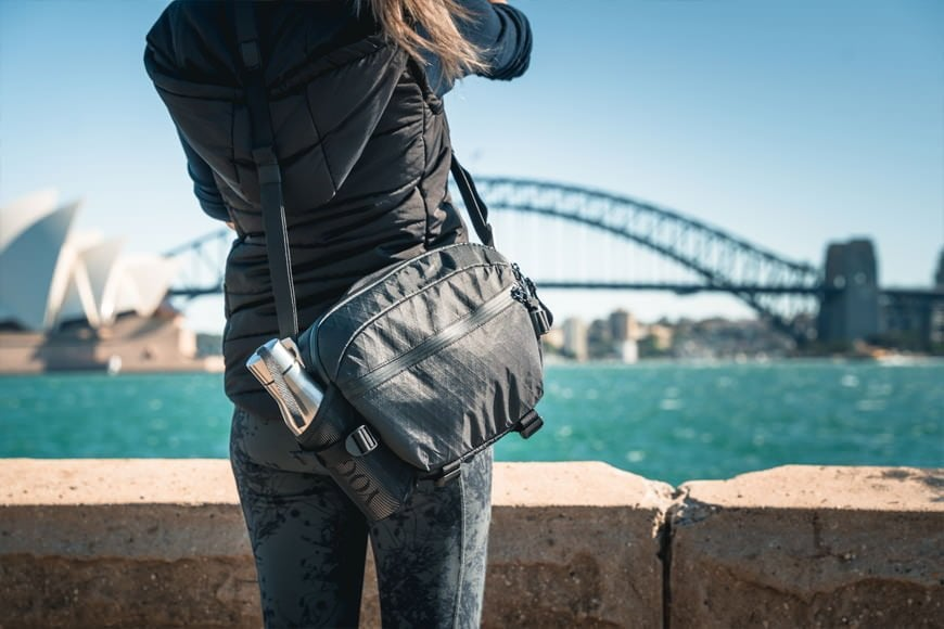 The Instinct X-Pac Pro Camera Sling Bag is a comfortable bag to wear whichever carry style that you prefer.
