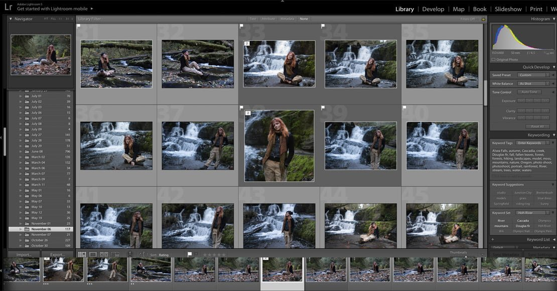 lightroom's libraries make it simple to organize your photos