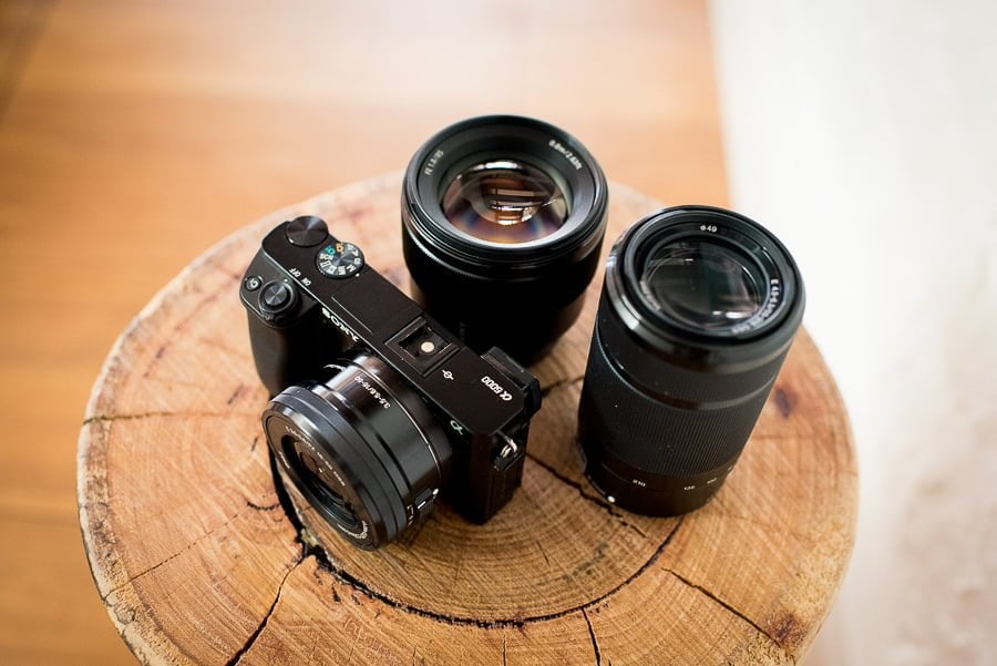 camera buying guides - multiple lenses