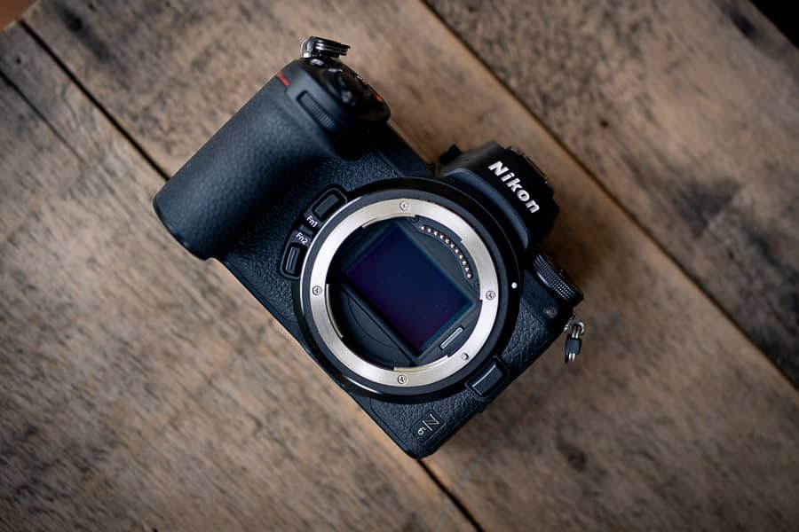 The Nikon z6 mirrorless camera excels at video and image quality, autofocus, eye af, quality LCD screen, sensor and exposure in low light.