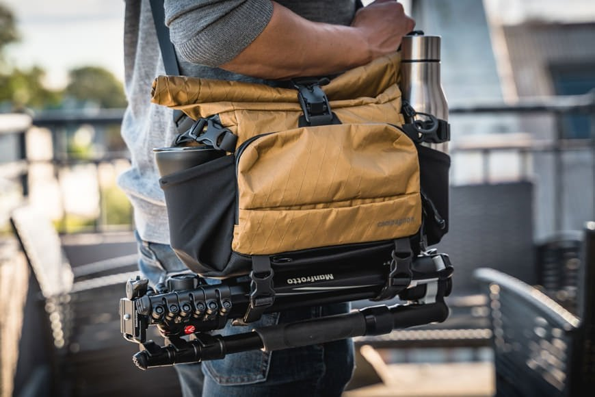 The Sling 11 has multiple external carry points ready to be loaded up with your extra bulky items.