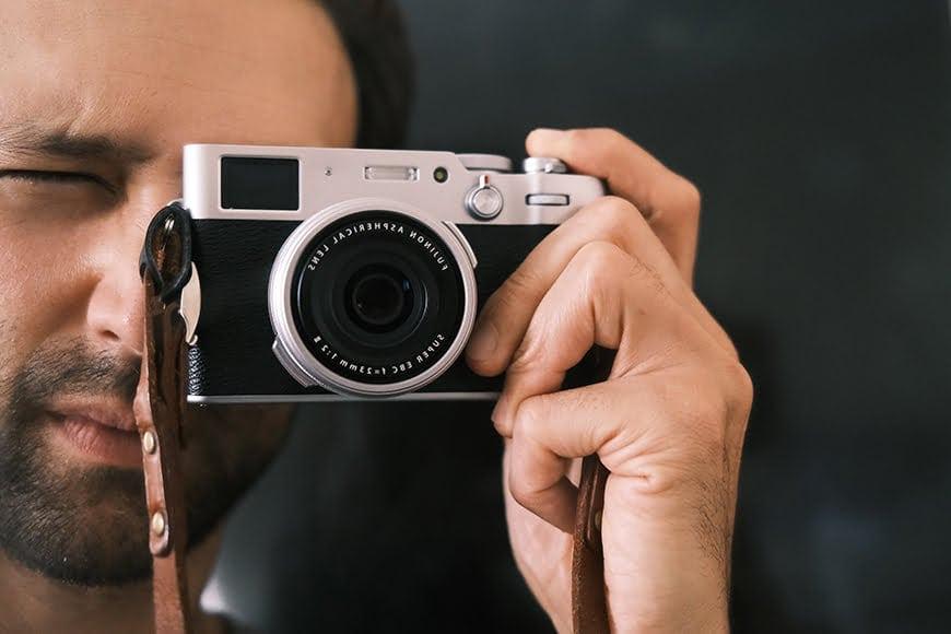 X100V camera street photography