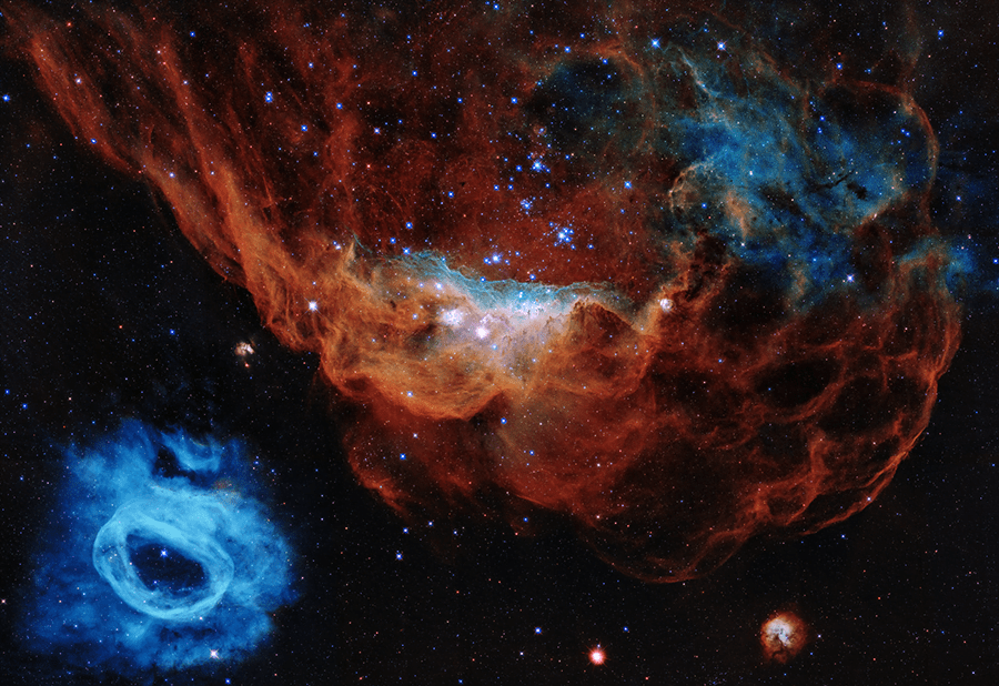 hubble telescope 30 years nasa images