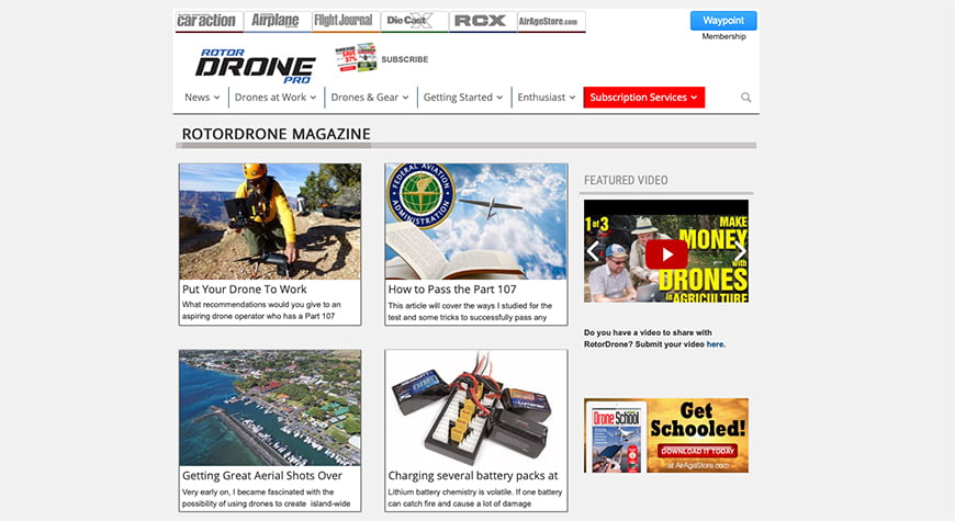 Best photography magazines: Rotor Drone Pro