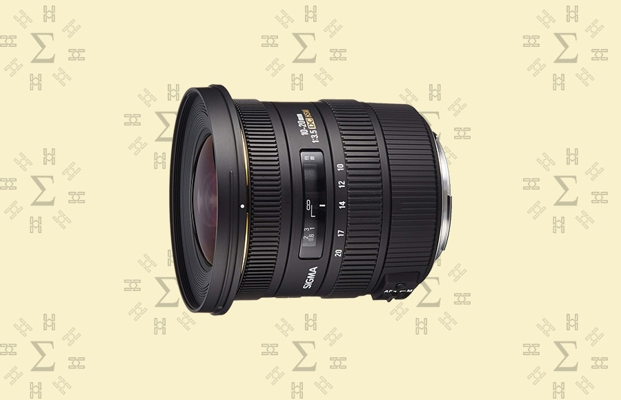 Sigma 10-20mm f/3.5 EX DC HSM - Sigma lens suitable for various types of photography with low chromatic aberrations and variable focal length