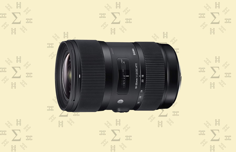 Sigma 18-35mm f/1.8 DC HSM Art - incredible sigma lens ideal for various conditions