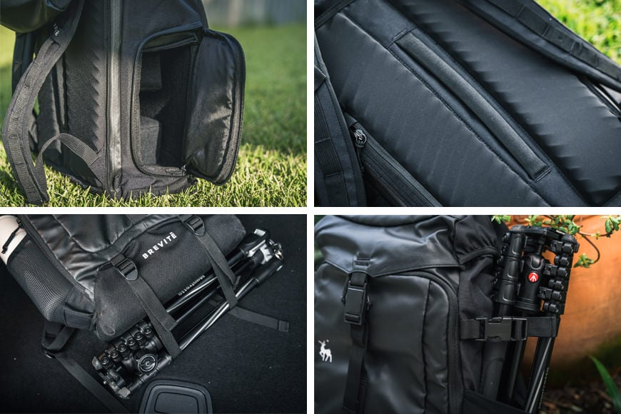 The Roamer II has plenty of padding and with the multiple access points and external cargo straps, it's very handy.