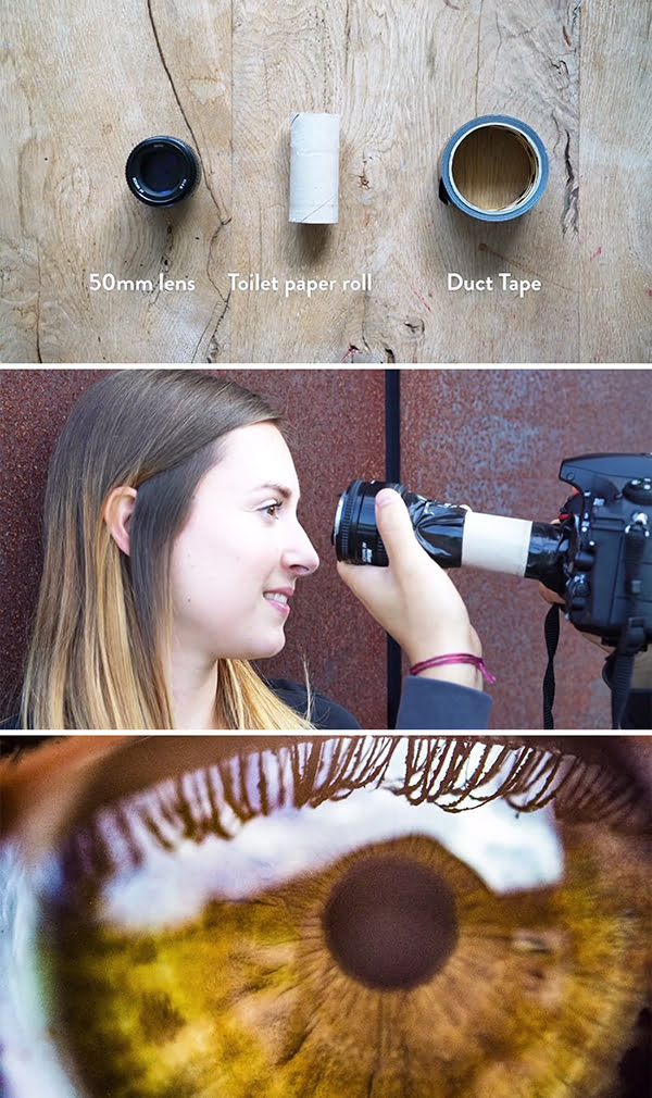 macro photography hacks with diy macro lens