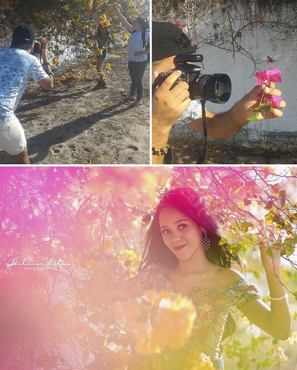 make diy light lens effect