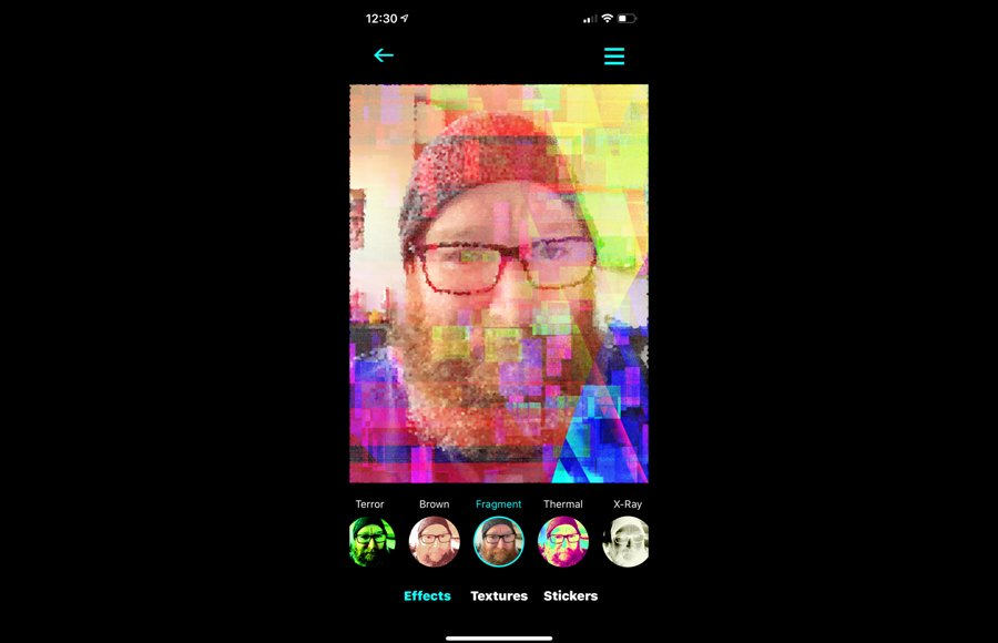 Process your images with glitch apps to see and share with other artists.