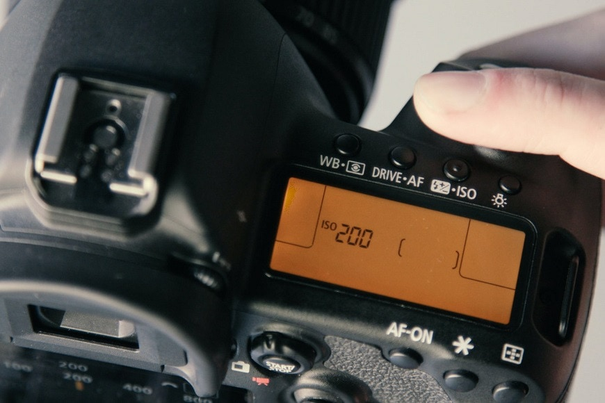 Using a low ISO will help you avoid having to fix grainy images.