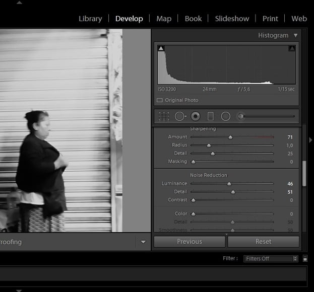 Fix grainy images in Lightroom for better photos