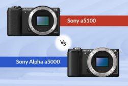 Sony A5000 vs Sony A5100