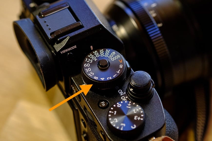 It helps for photographers to understand the camera settings of their camera models - like shooting mode and aperture setting.