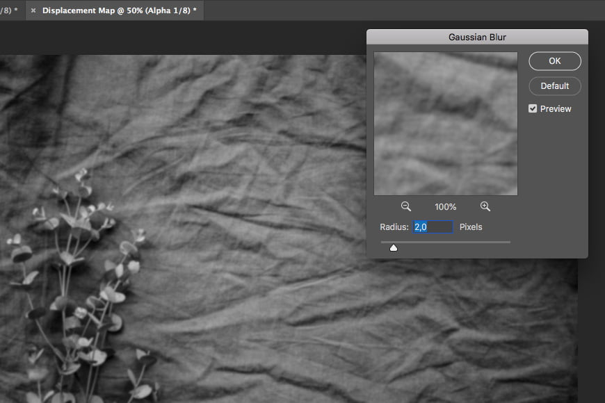 Photoshop tutorial step 5: add gaussian blur to your layer.