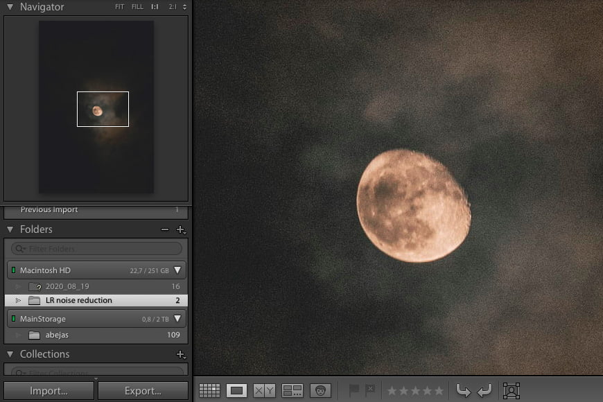 Guide to Lightroom noise reduction: defining color noise and luminance noise in lightroom