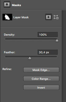 Feather your mask by selecting it in the layers panel and using the filter slider. This will merge your subject better with the radial blur.