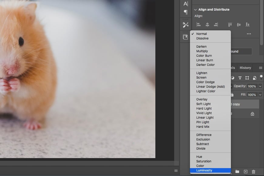 How to sharpen unsharp mask filter in Photoshop - on your image, set the blend to luminosity.