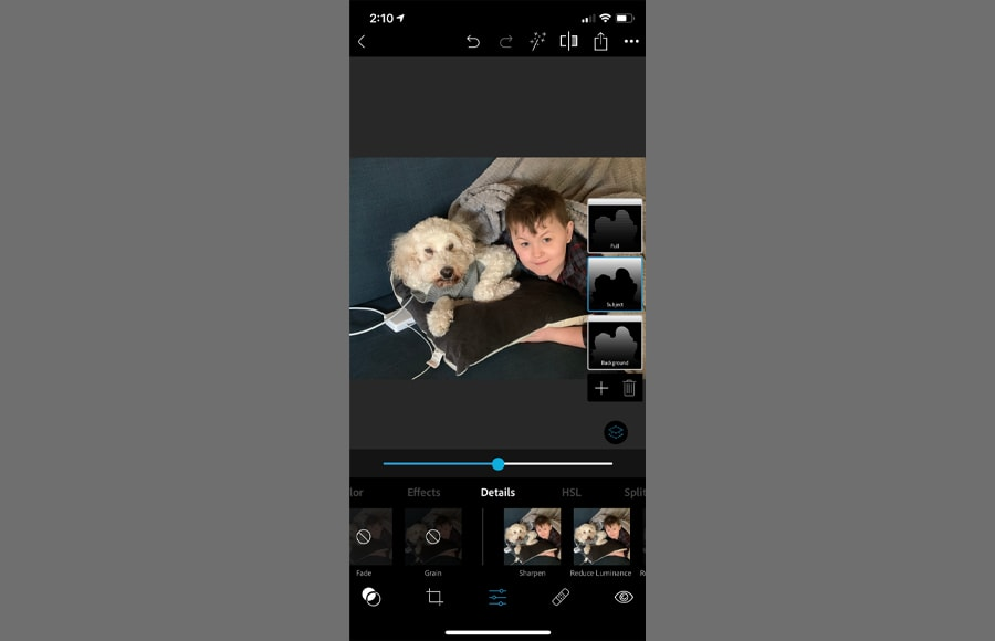 Adobe photoshop has apps to fix blurry pictures. Adobe photoshop apps work on both iphone and android.