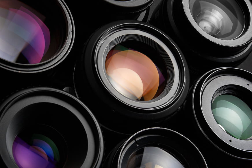 The design of lens elements affect how lenses create and handle chromatic aberrations.