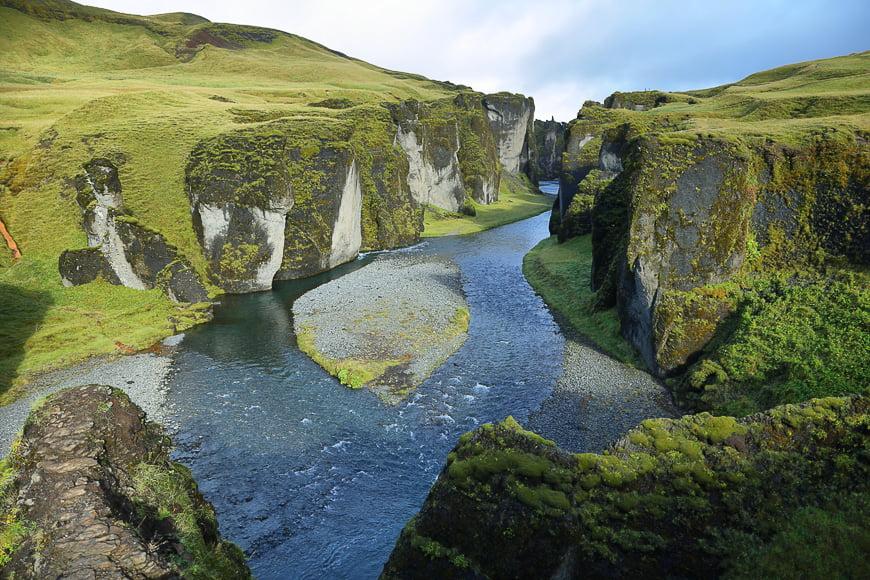 Awe-inspiring landscapes in Iceland.