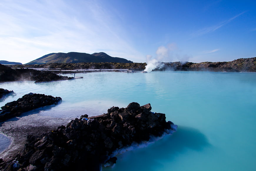Iceland's blue lagoon.