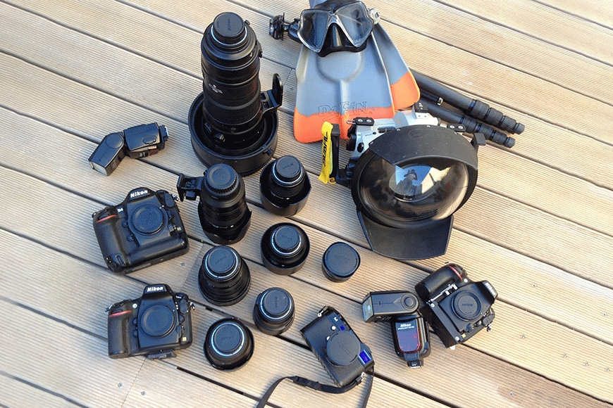 dome port camera system