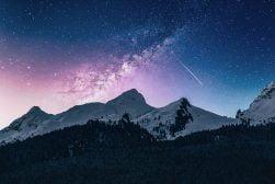 night landscape photography