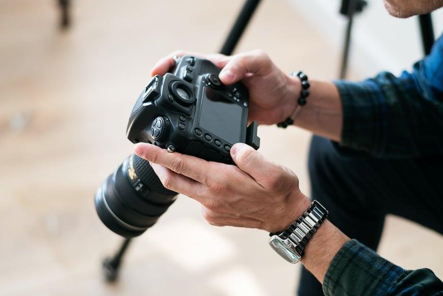 manual focus for shooting long exposures at night