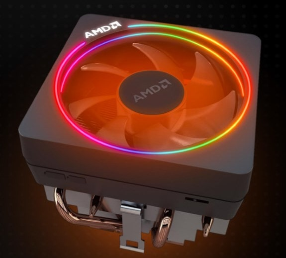 AMD Ryzen processor have a cooler in the box.