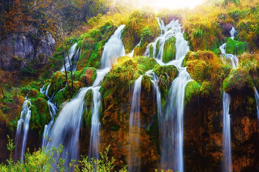 One of the stunning effects in photography is water falling.