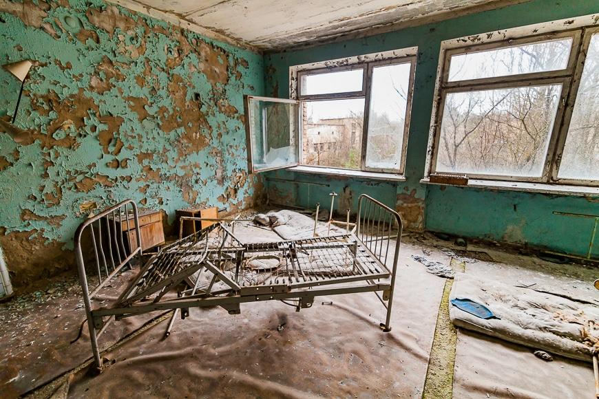 Urban exploration focuses on abandoned buildings.