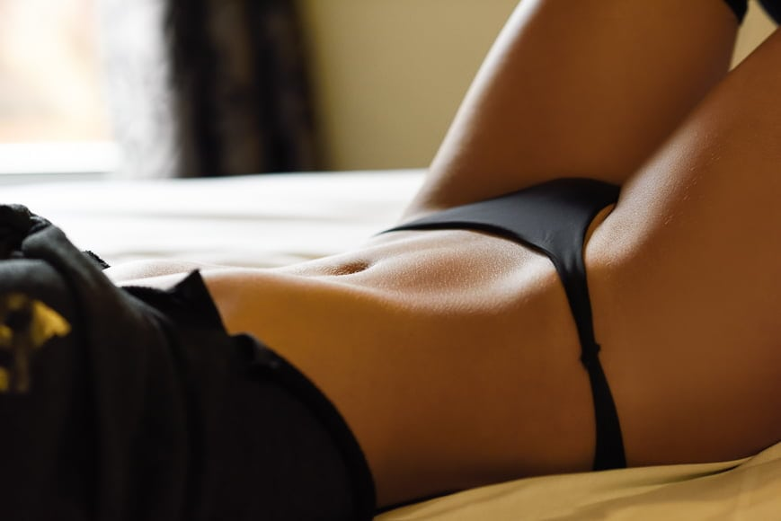 Boudoir photography requires skill in interacting with the subject.