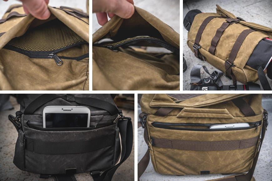 Multiple discrete pockets can be found on the Pilot, all of which are relatively hidden away from prying eyes and would-be thieves.