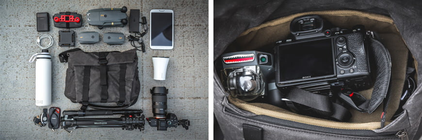 If you can't keep to using just one photographic tool, the Pilot S has got you!