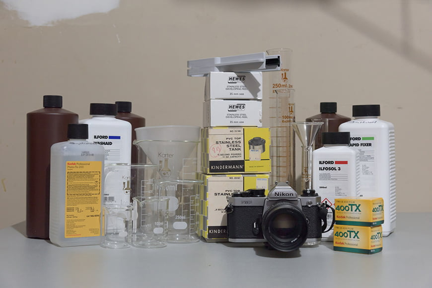 Film development materials