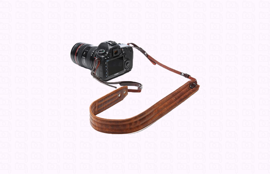 Carrying cameras requires a sturdy and comfortable leather strap product like the ONA neck strap.