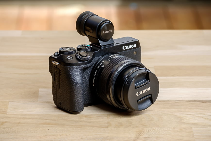 The Canon EOS M6 Mark II is a perfect kit for entry-level and enthusiast photographers.