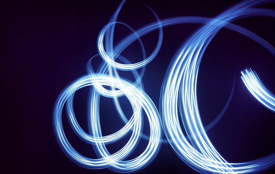 Manual focus gives more control with light paintings
