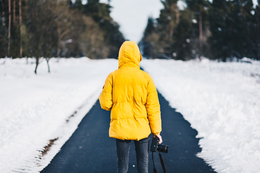 protect your camera after being outside in winter