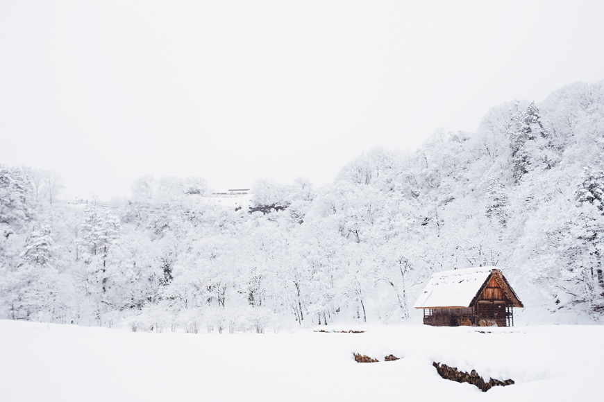 In cold weather, taking photographs in raw format can make editing easier in post processing