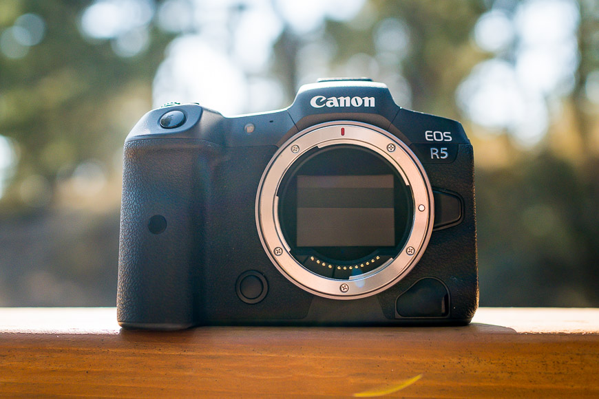 The Canon EOS R5 is not cheap but has incredible features.