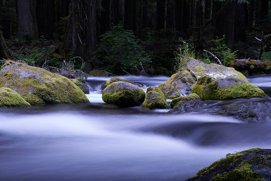 Depending on the amount of light, long exposures can benefit from NDs.