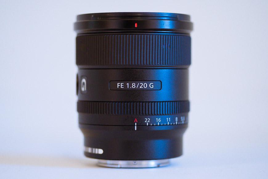 Sony 20mm EF f/1.8